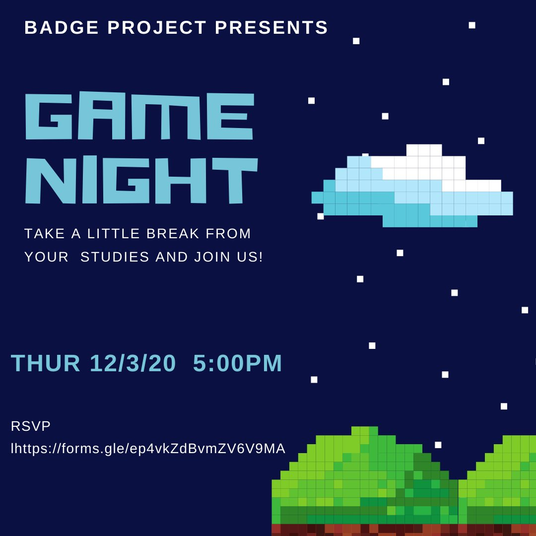 We have so much coming your way! Get ready for game night AND movie nigh next week! RSVP and join us for some fun! #csun #matadors #funtimes #takeabreak #joinus #movienight #gamenight