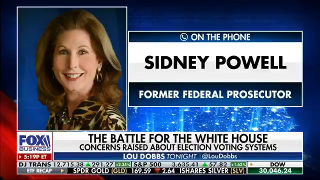 BREAKING NEWS: @SidneyPowell1 says her lawsuit in Georgia could be filed as soon as tomorrow and says there's no way there was anything but widespread election fraud. #MAGA #AmericaFirst #Dobbs