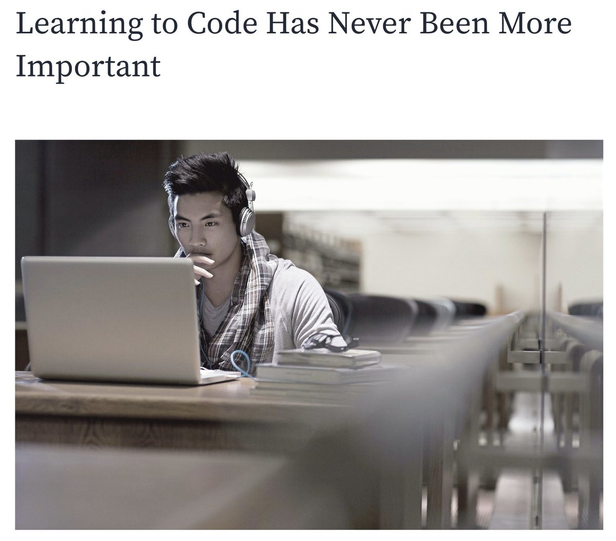 Claim 2: Artificial Intelligence Will Make Coders Redundant  TRUE or FALSE❓  Read our verdicts on these claims 👇  https://t.co/N8VMWmRkXW  #learntocode #learningtocode #learnPython #codingforkids #education #future #futureskills #christmas #activitiesforkid https://t.co/xFfNcGOaRV