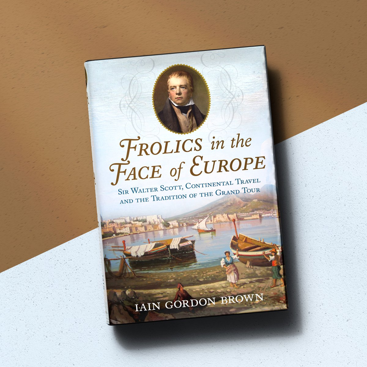 """📣 Out now: """"FROLICS IN THE FACE OF EUROPE: SIR WALTER SCOTT, CONTINENTAL TRAVEL AND THE TRADITION OF THE GRAND TOUR"""" 👉🏼   #WalterScott #TheGrandTour #ScottishWriters #Abbotsford #Writers #Classics #Literature #SirWalterScott #WhatToRead #ScottishNovelist"""