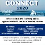 Image pour le début du Tweet: Port Connect Interviews TODAY! 10:00am–BC