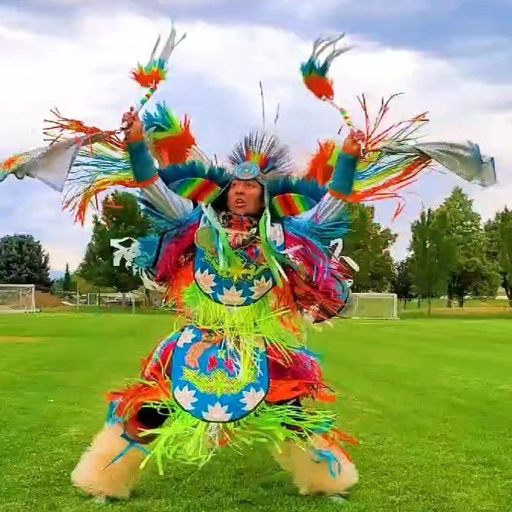 """My ancestors have been through so many trials and turmoil though we still stand strong to this day, proud of who we are.""   See @patrickisnavajo's stunning hoop dance in honor of #NativeAmericanHeritageMonth ❤️"
