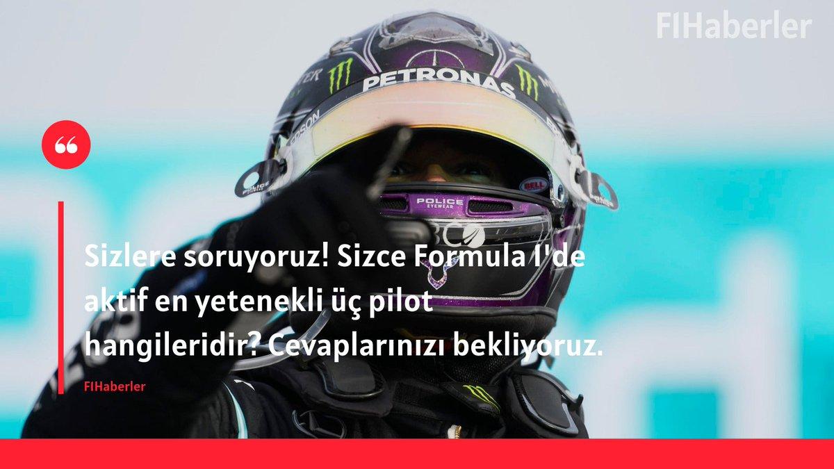 📌 Sizlere soruyoruz! Sizce Formula 1'de aktif en yetenekli üç pilot hangileridir? Cevaplarınızı yoruma bekliyoruz. https://t.co/tNhwvmnuVM