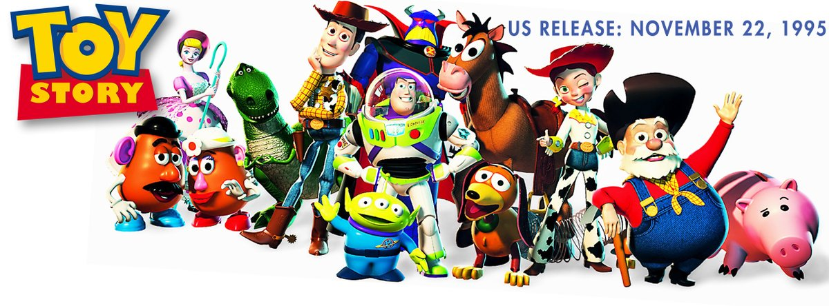 25 YEARS: @Disney  & @Pixar Studios release Toy Story in US theaters 🇺🇸 on November 22, 1995. #ToyStory25