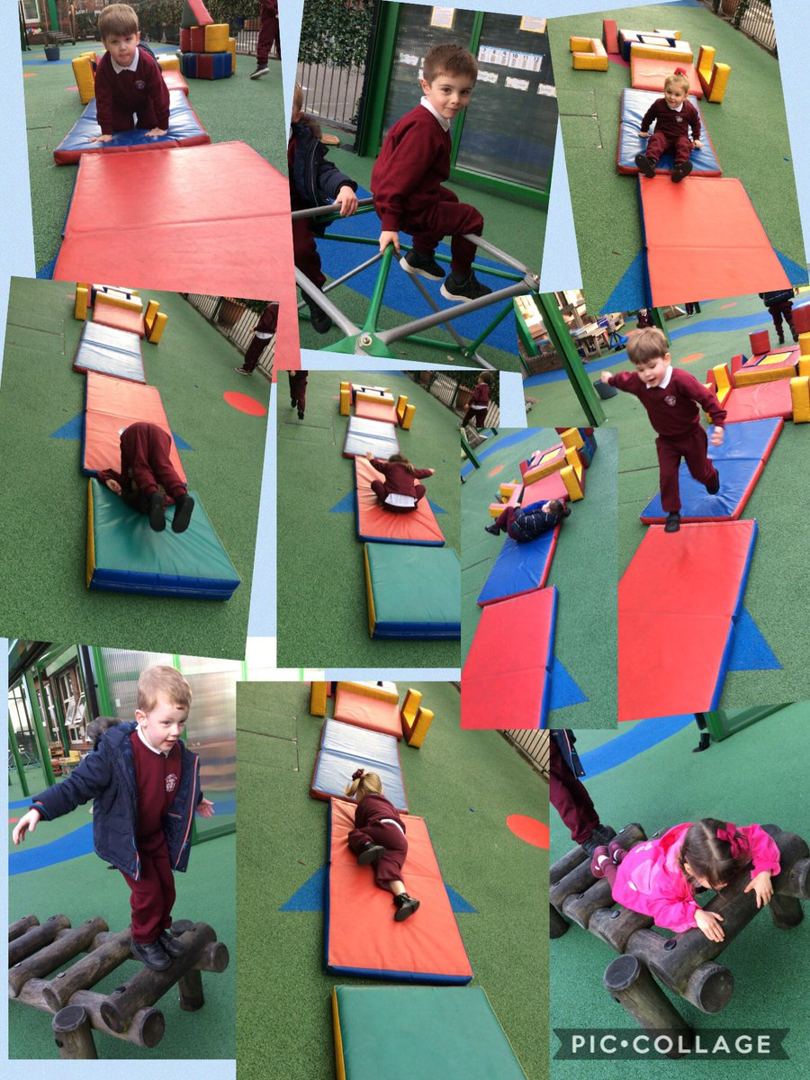Wow I am super proud of how far Nursery children have come already 💙#Superstars #StannestanleyPE