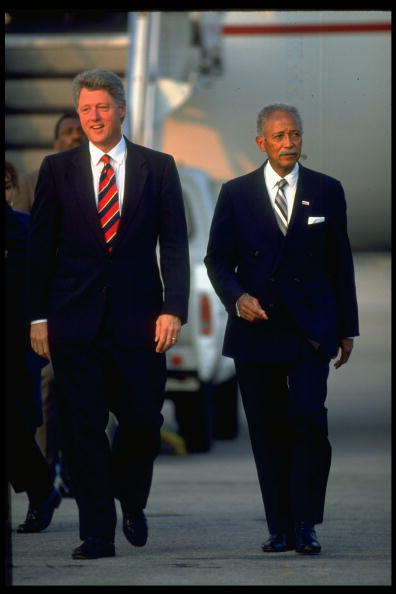 """David Dinkins was an extraordinary public servant who made NYC fairer, better, and stronger. He was calm on the outside, and burned with a passion for justice on the inside. Until the end, he never stopped fighting for the city he loved and celebrating its """"gorgeous mosaic."""""""