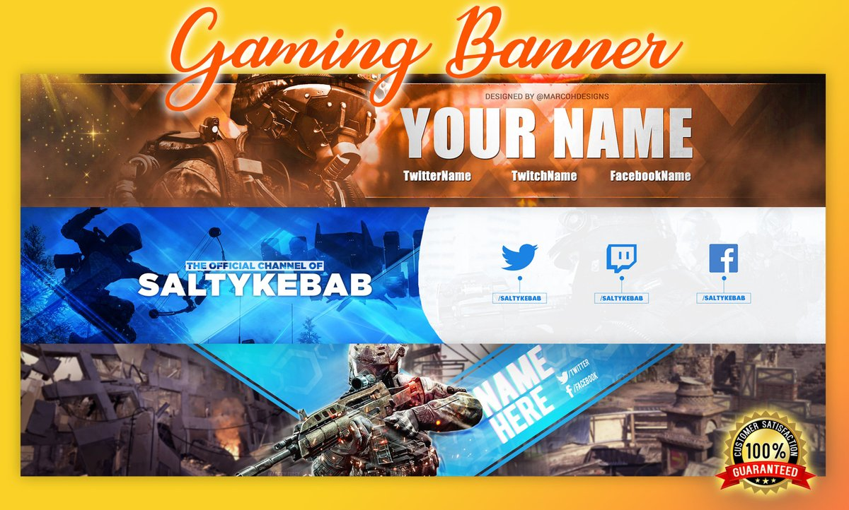 If you need any kind of #gamer #gaming #youtube #channel #art #twitter #twitch #header #socialmedia #design feel free to contact with me: let's see my fiverr portfolio :   #GOODNEWSMEGAN #Weeknd  #AOTY #ClothesForPhil Giroud Randy Quaid  #colourpopgivesback