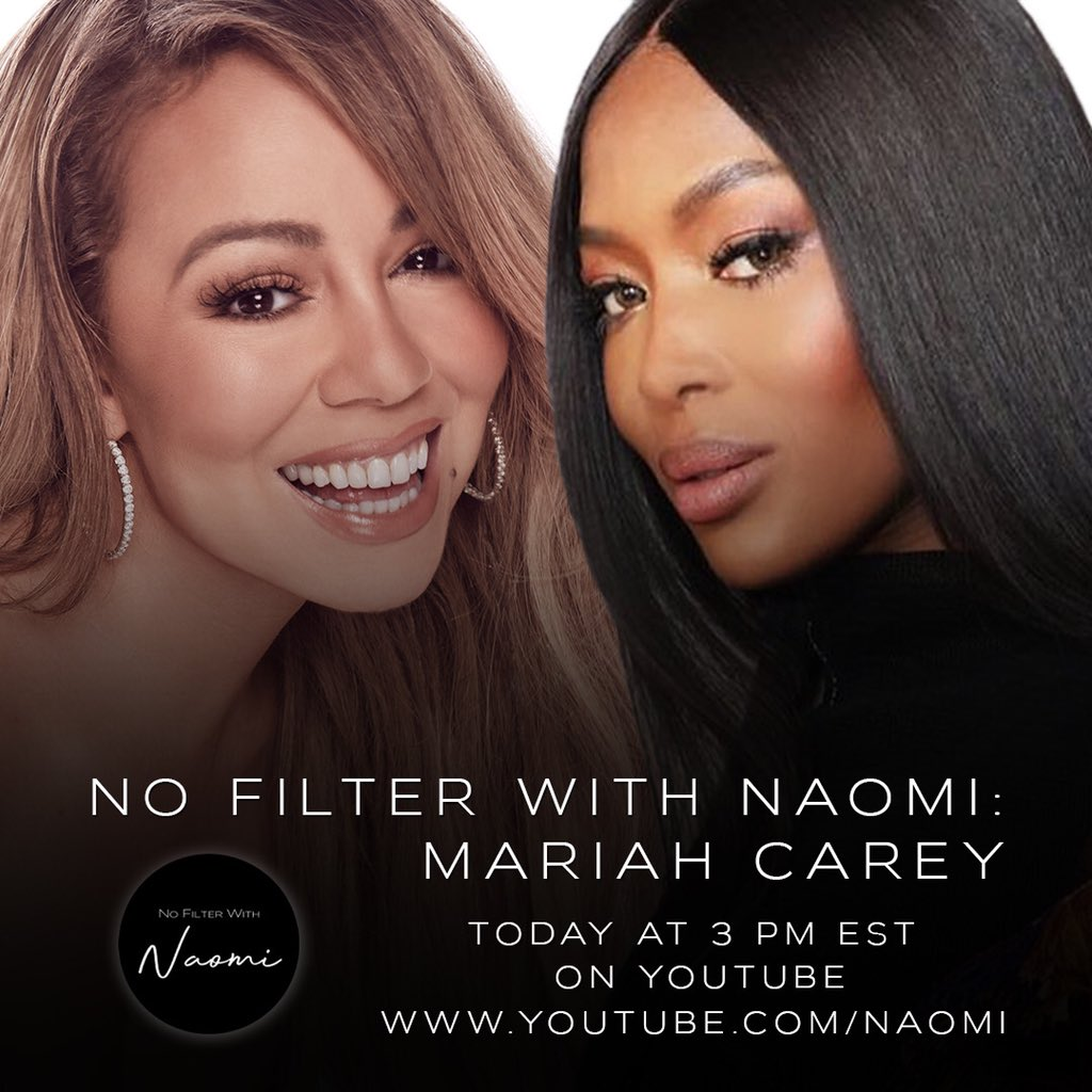 Tune in for my interview with the one and only @NaomiCampbell!! ❤️ #TMOMC