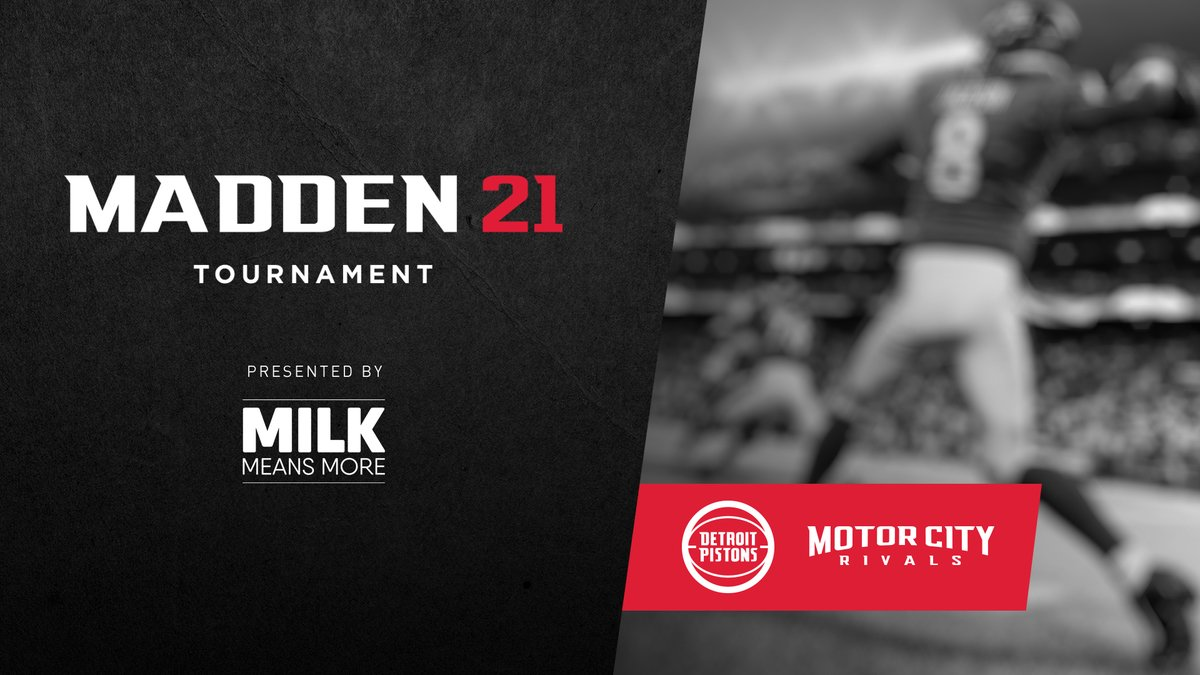Join the latest Madden tournament starting on Nov. 28 presented by @milkmeansmore   Go to https://t.co/yoC9SvuiZ4 to sign up! https://t.co/rkMXBWh42i