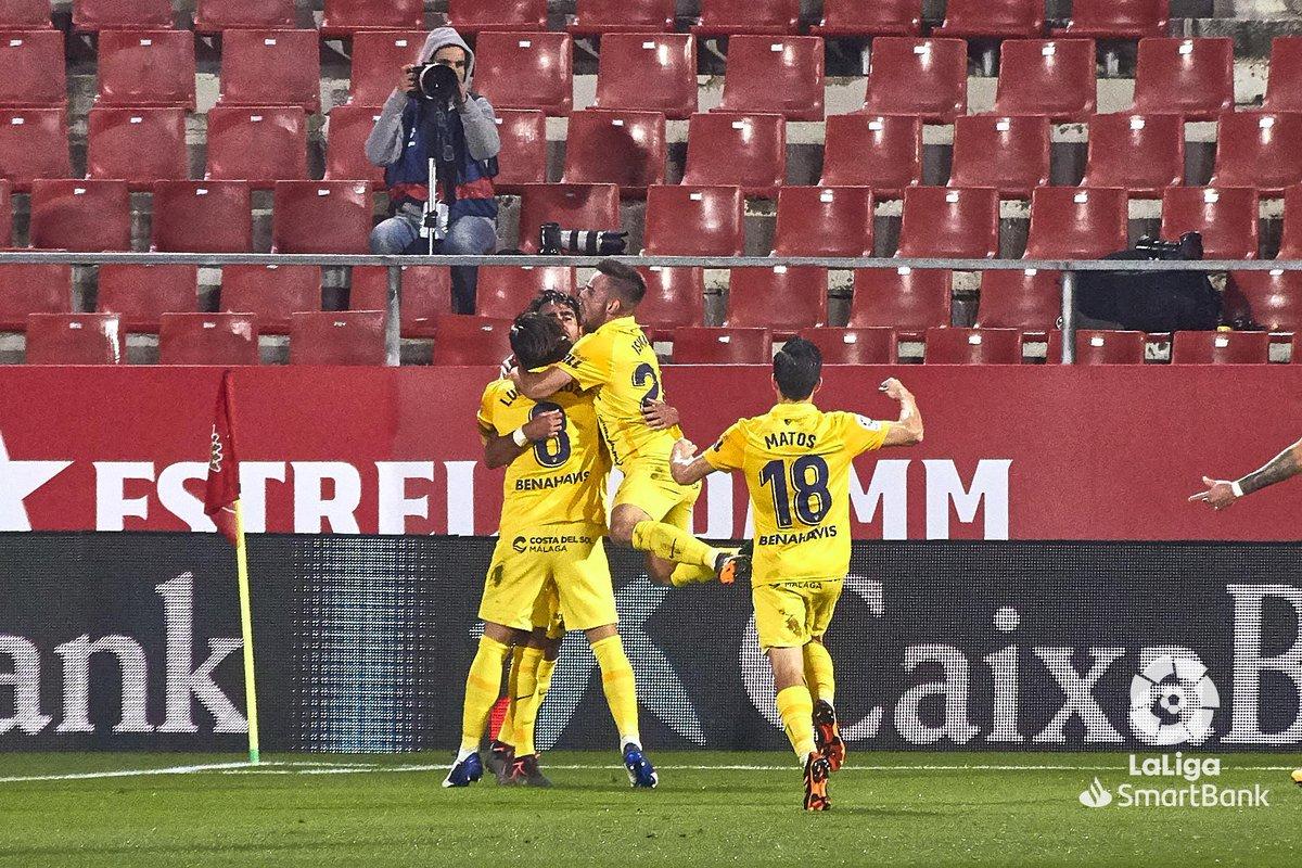 FINAL #GironaMálaga 0-1   ¡El @MalagaCF se lleva los tres puntos de Montilivi!   #LaLigaSmartBank
