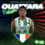 Image for the Tweet beginning: 🔝🏀Yakuba Ouattara, convocado con la