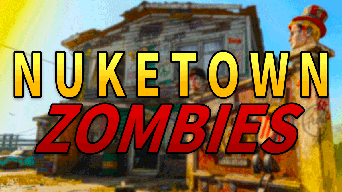 ThatGuySlink - Nuketown '84 Zombies is finally HERE!  Check out my NEW Youtube video showing gameplay and giving my thoughts on the newest DLC to Black Ops Cold War.  📷:
