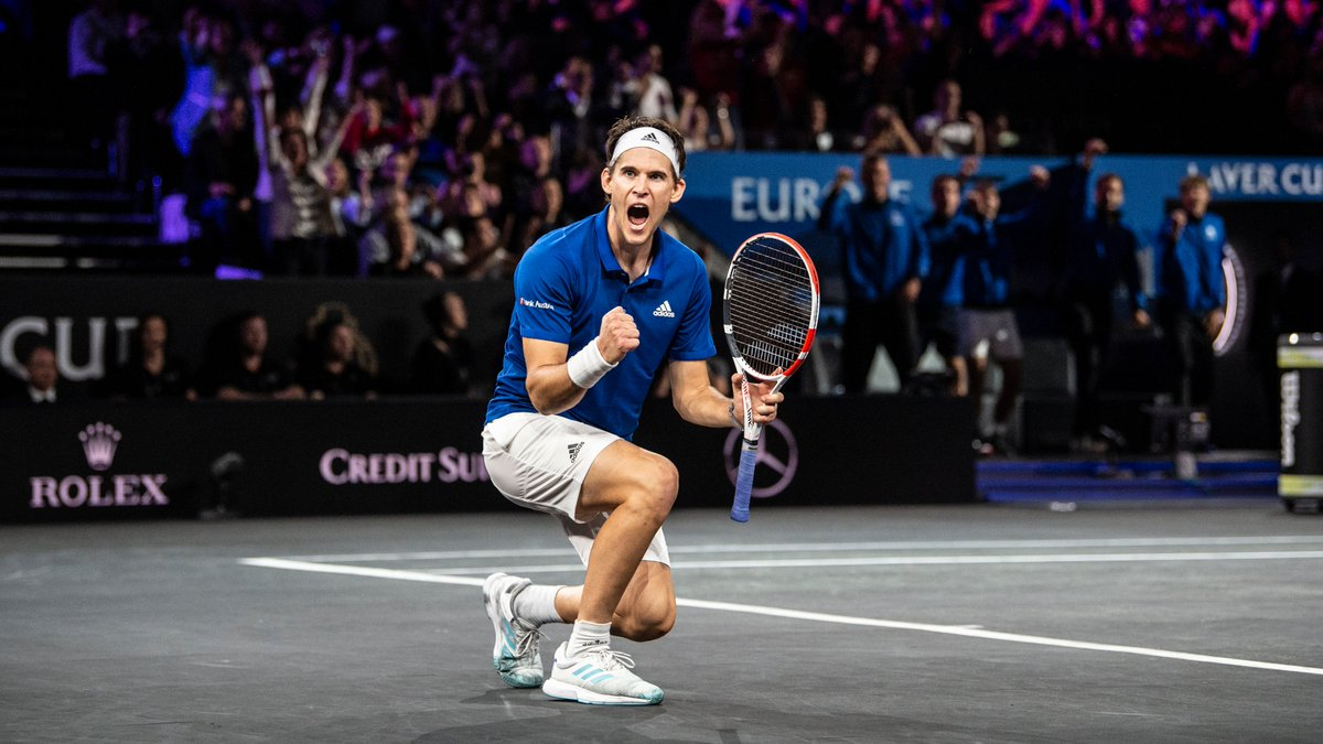 Boston 2021 player announcement.   World No.3 and US Open Champion @ThiemDomi will return to defend the #LaverCup for Team Europe next September.   Read more: https://t.co/2r2xlKTk3z https://t.co/WDt8Qn1Q0F