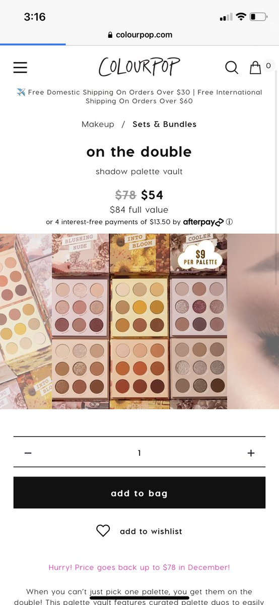 @ColourPopCo My wishlist is new makeup and target and Starbucks gift cards!! #colourpopgivesback