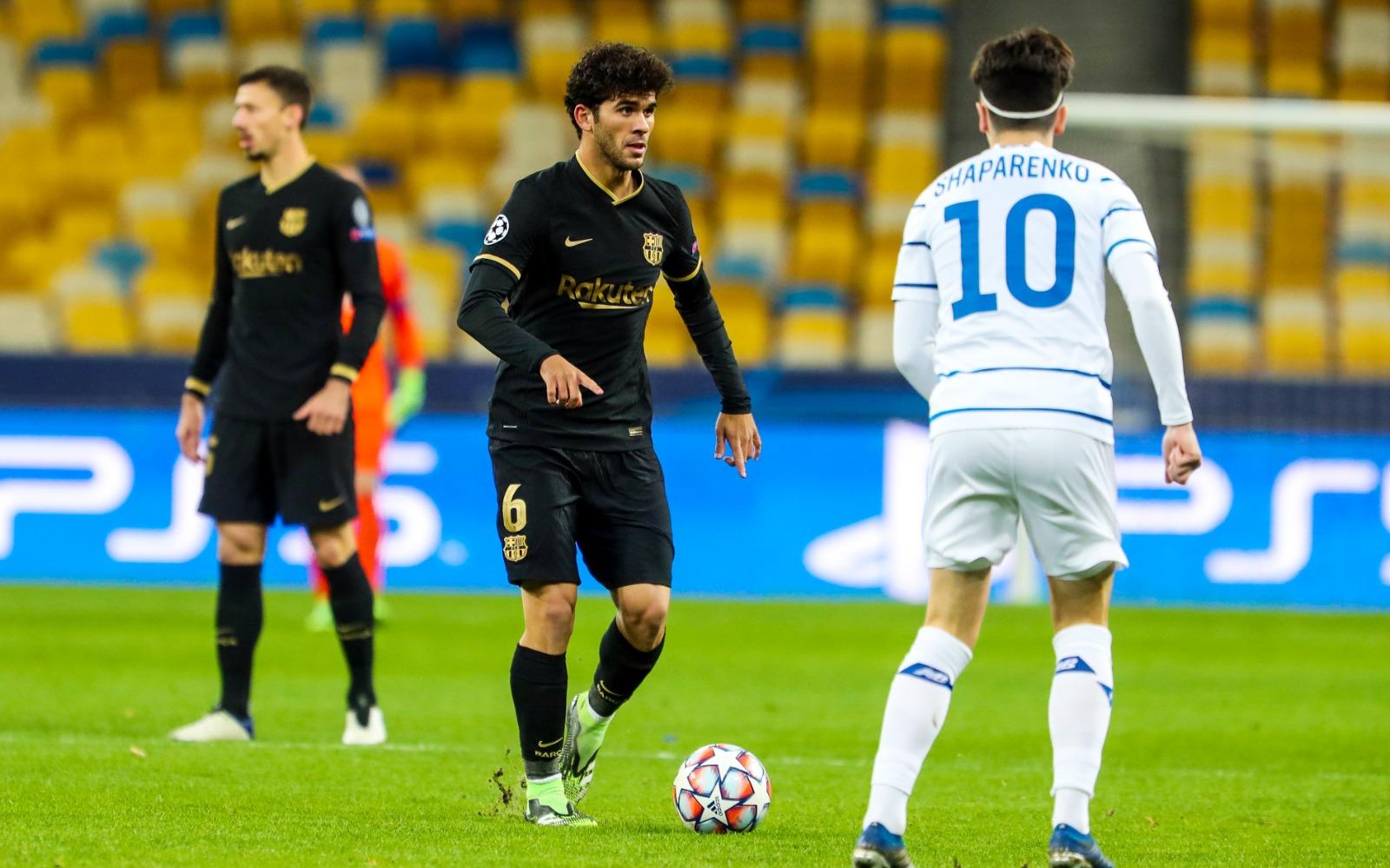 برشلونة يضرب دينامو كييف برباعية نظيفة ويتأهل رسميا إلى ثمن نهائي دوري الأبطال