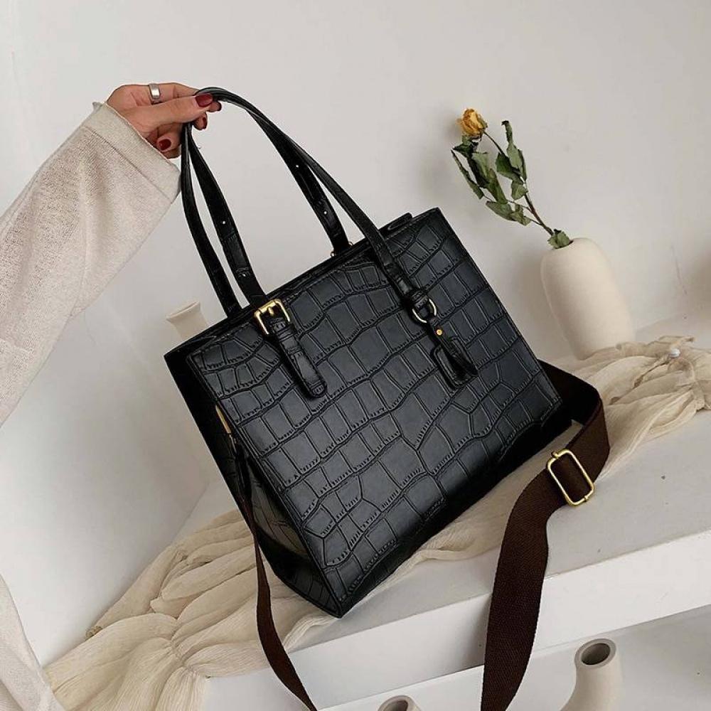 Fashion Crocodile Pattern Women Handbag Leather Ladies Hand Bags Luxury Handbags Women Bags Designer shoulder bag#amazing #happy https://t.co/WDESAT18Xa https://t.co/YIbMYUgRGb
