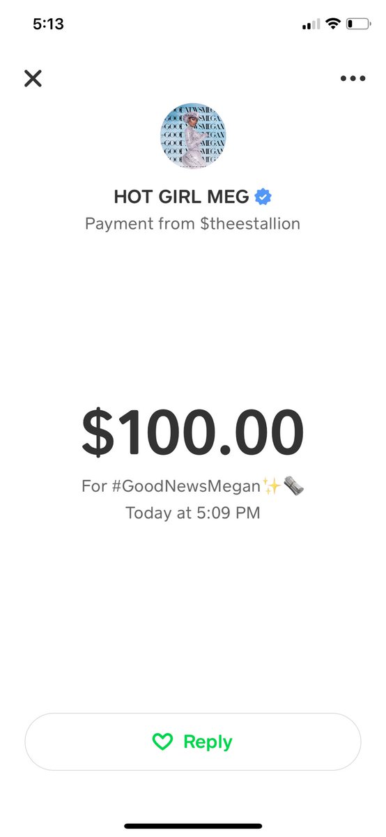 @theestallion Queen you better come through. I appreciate you on so many levels. Helping queens celebrate themselves without shame. Love and blessings to you. #GOODNEWSMEGAN