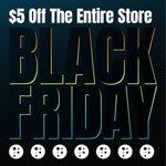 Image for the Tweet beginning: IT'S #BLACKFRIDAY!!  Get $5 off the