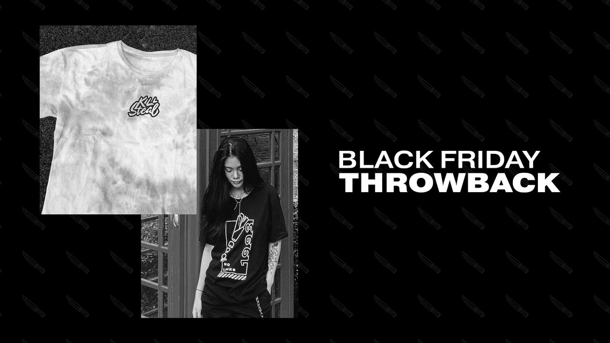 we're bringing back some of our favorite pieces for black friday!   don't miss out on our throwback drop on 11/27 at midnight. 🖤   #legendsonly 🔪