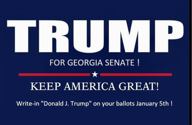 Just as I predicted the need to fire Parscale, I know this to be true: the patriots who work at the White House are not beaten. If the courts fail us, there will be a triumphant return of Trump in 2024 with a mandate to continue making our country great. #KAG #WriteInTrumpForGA