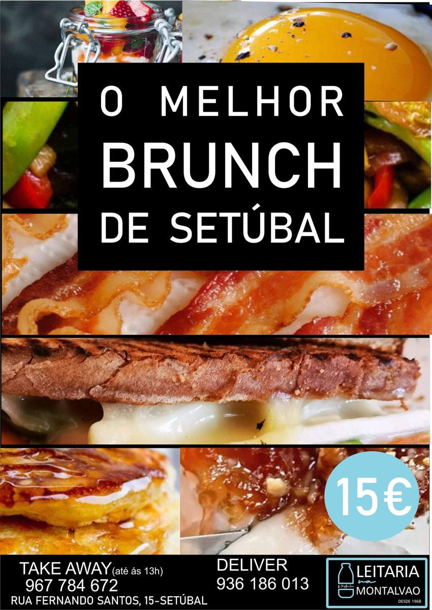 #leitariamontalvao #Brunch #food https://t.co/MGt8UsppRI