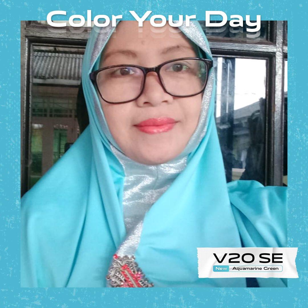 #ColorYourDay  #vivoV20SEAquamarineGreen  @vivo_indonesia  Bismillaahirrahmaanirrahiim... Mudah-mudahan beruntung... aamiin ya rabb  Make a Wish 🙏🎉🎊🎁
