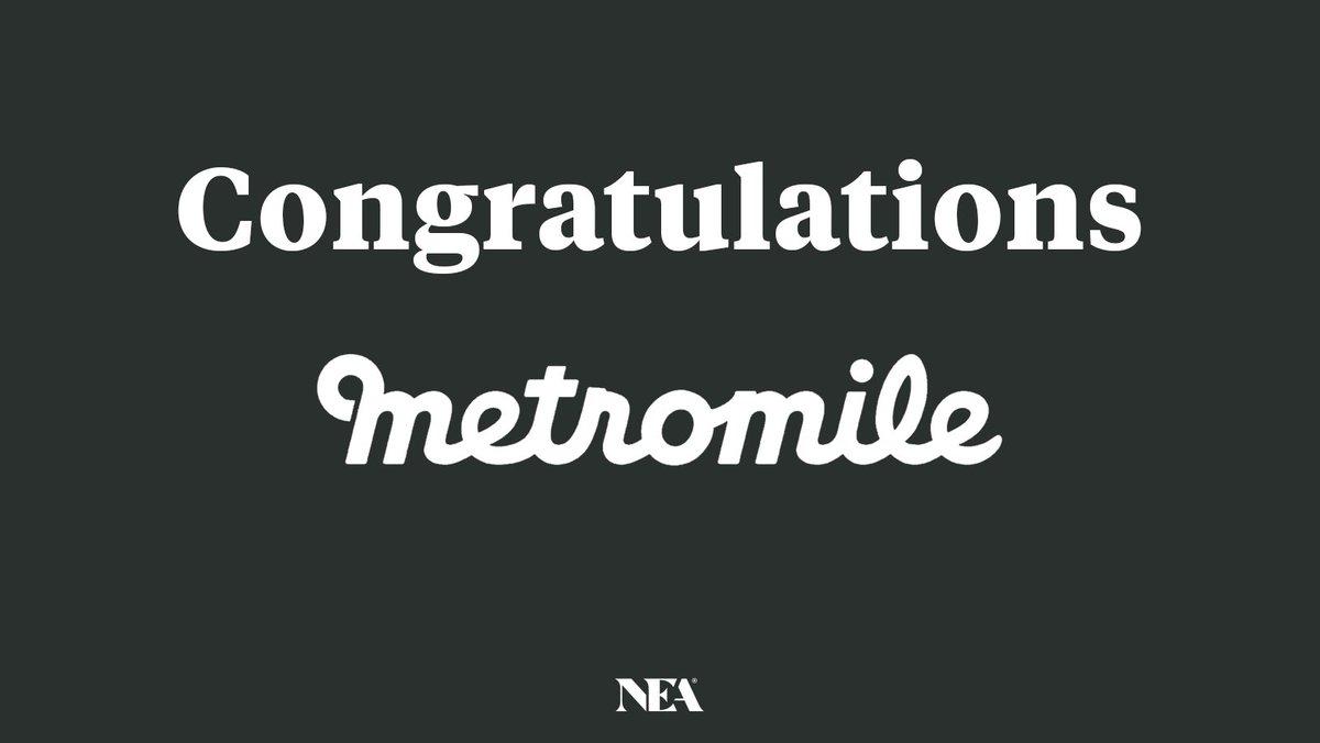 🎉 Congratulations, @danpres & the @Metromile team! 👏🏼👏🏼👏🏼