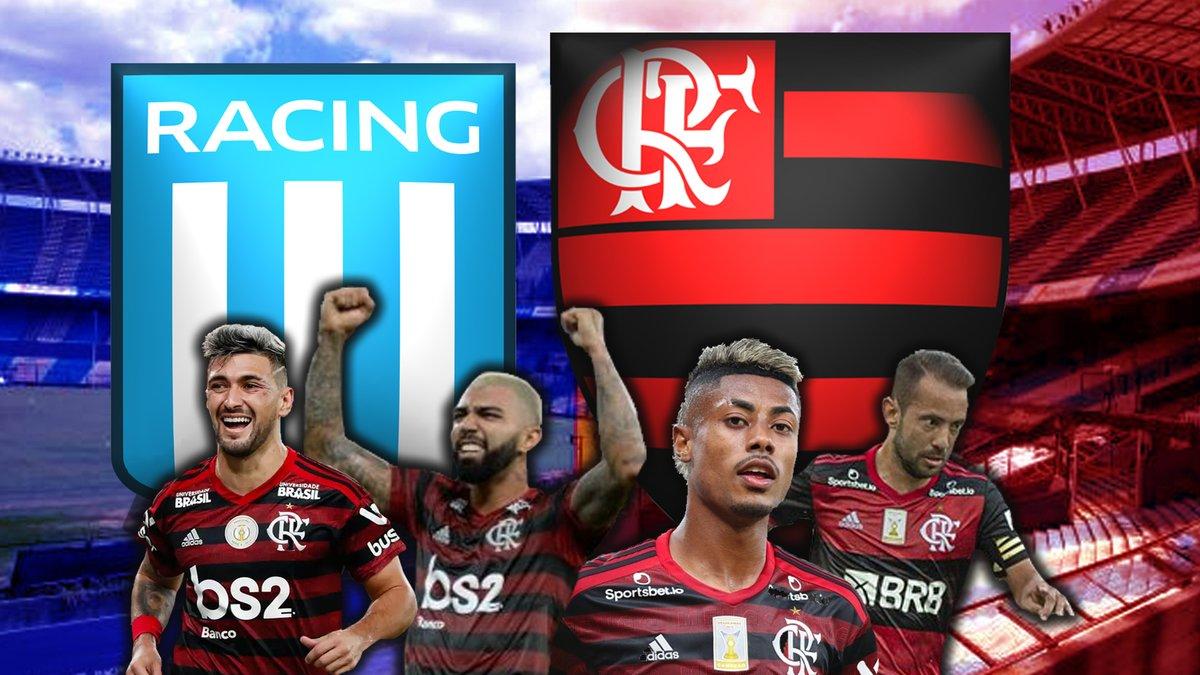 Já estamos ao vivo com a TRANSMISSÃO AO VIVO de @flamengo x @RacingClub ! Acompanhem as emoções deste jogão de bola com a gente! Ah e compartilha este também! 😉  https://t.co/uKN7Ph8jOM  #Flamengo #RACxFLA #Racing #libertadores2020 #Libertadores https://t.co/4u6YrheNLl