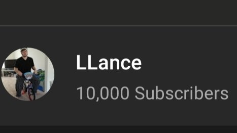 LLance - I am super famous now. Comedy Central called wanting to buy my channel for 15 million and Netflix wants to do a documentary on my rise to the top. Crazy how yesterday I was eating pizza rolls and mini corndogs and today I can afford an actual pizza and a full size corndog