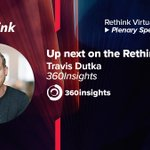 Image for the Tweet beginning: Travis Dutka of @360insights is