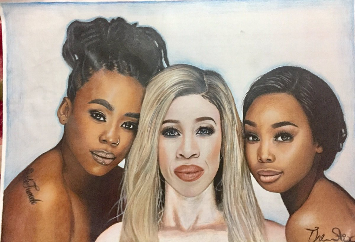 Thank you @BontleModiselle for supporting my art work l really appreciate  #art #fanart #artshare #drawing #draw #viral #TrendingSA #trend #artontwitter #twitter #family #painting #painter #RSAcelebs https://t.co/TMPtE3QQgt