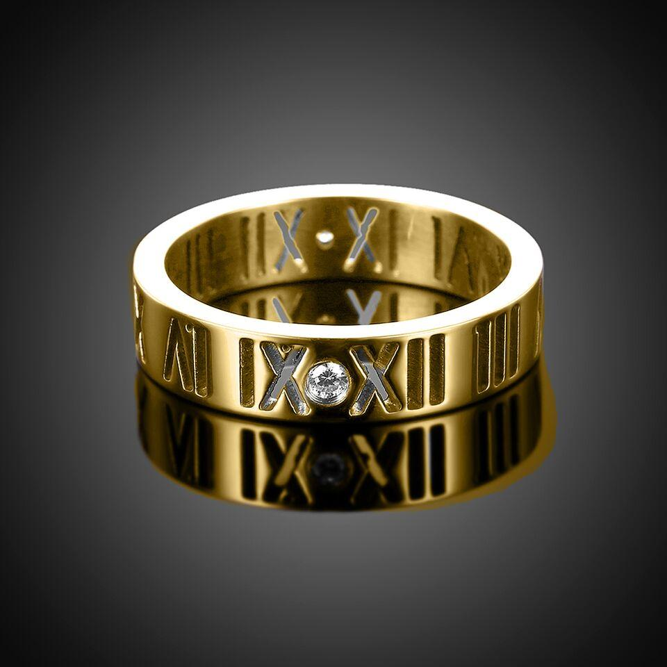 Roman Numeral Classic Band with 18K Gold Plating  ➤ $ 13.99.  ➤  #love #vote