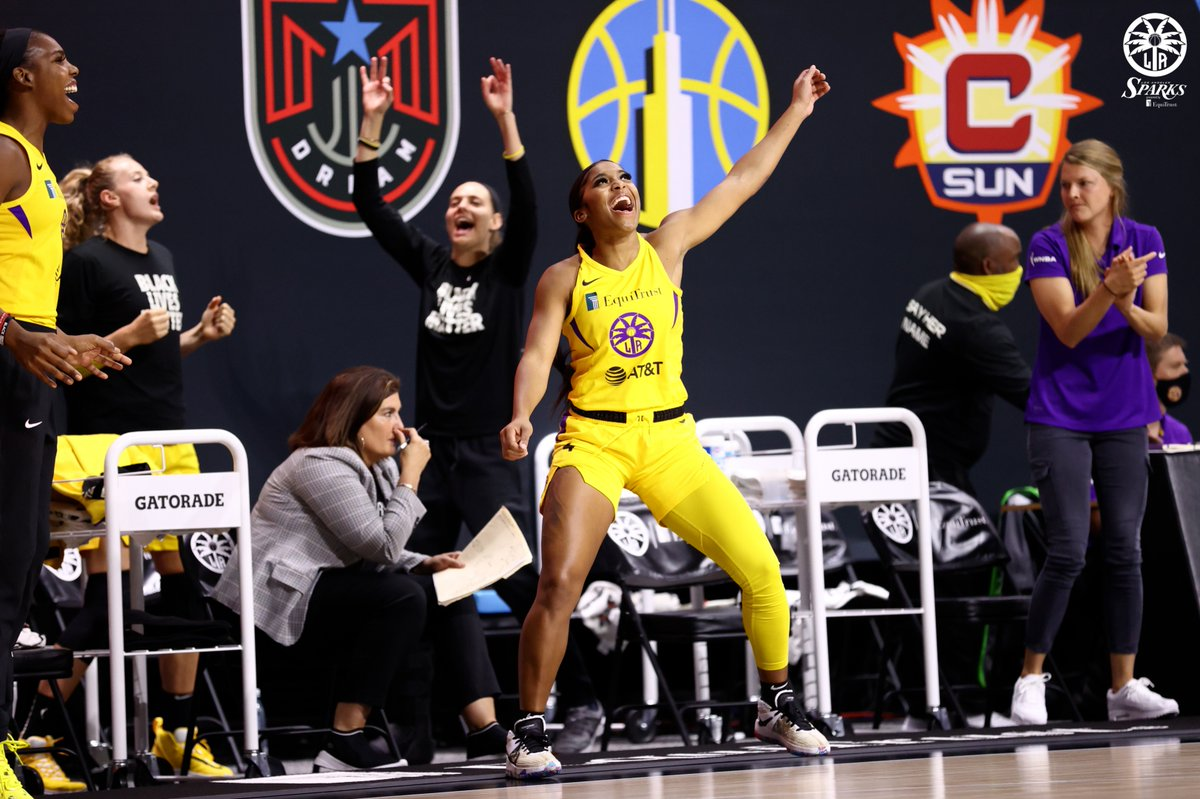 Replying to @LASparks: Mood when the turkey is ready! 😋  Happy Thanksgiving! 🦃🥧  #GoSparks | #LeadTheCharge