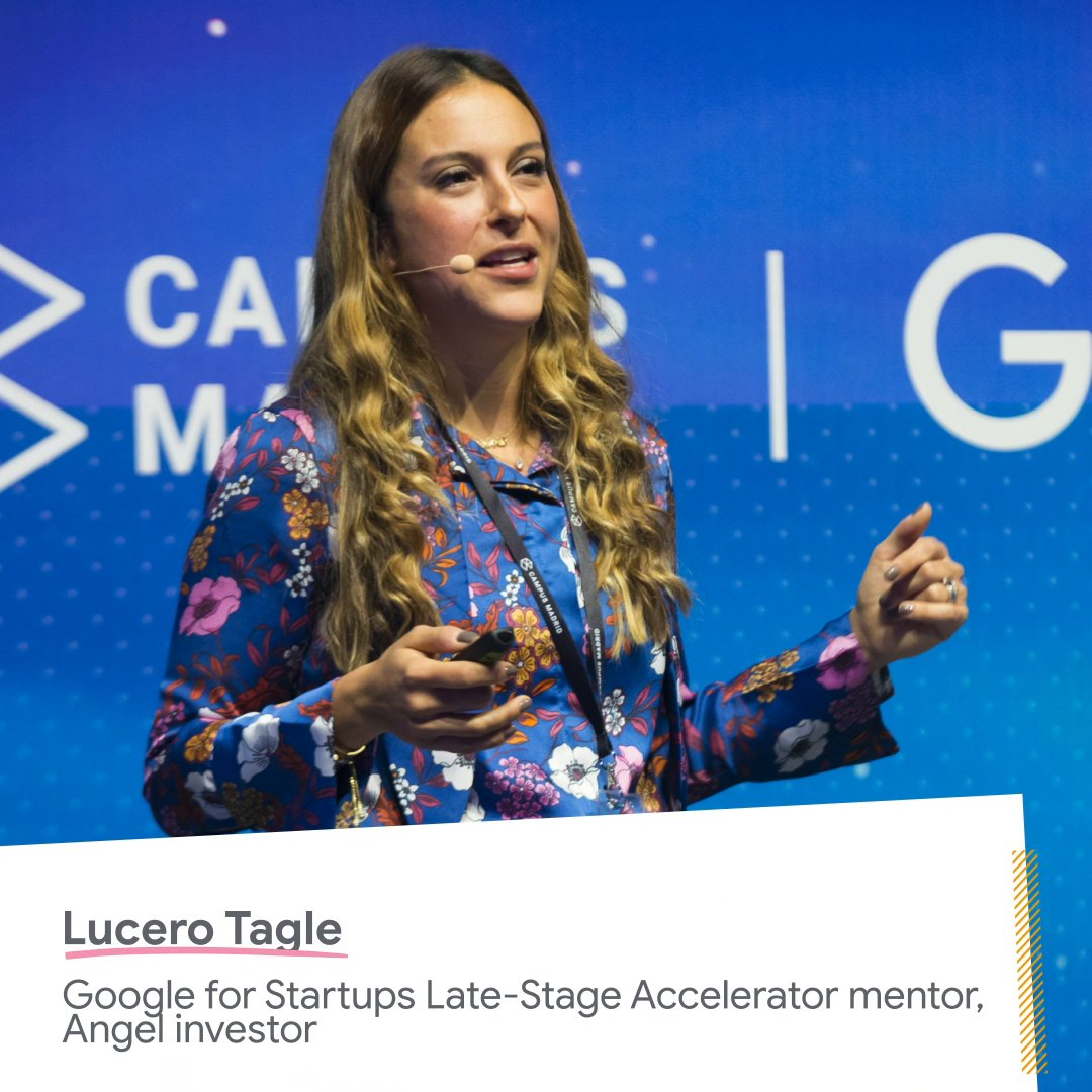 """For Lucero Tagle, a Late-Stage Accelerator mentor and angel investor, there's exciting opportunity in exploring what you don't know.  Her advice for #founders? """"Step into the uncomfortable and unleash even more potential."""" #AcceleratedWithGoogle"""