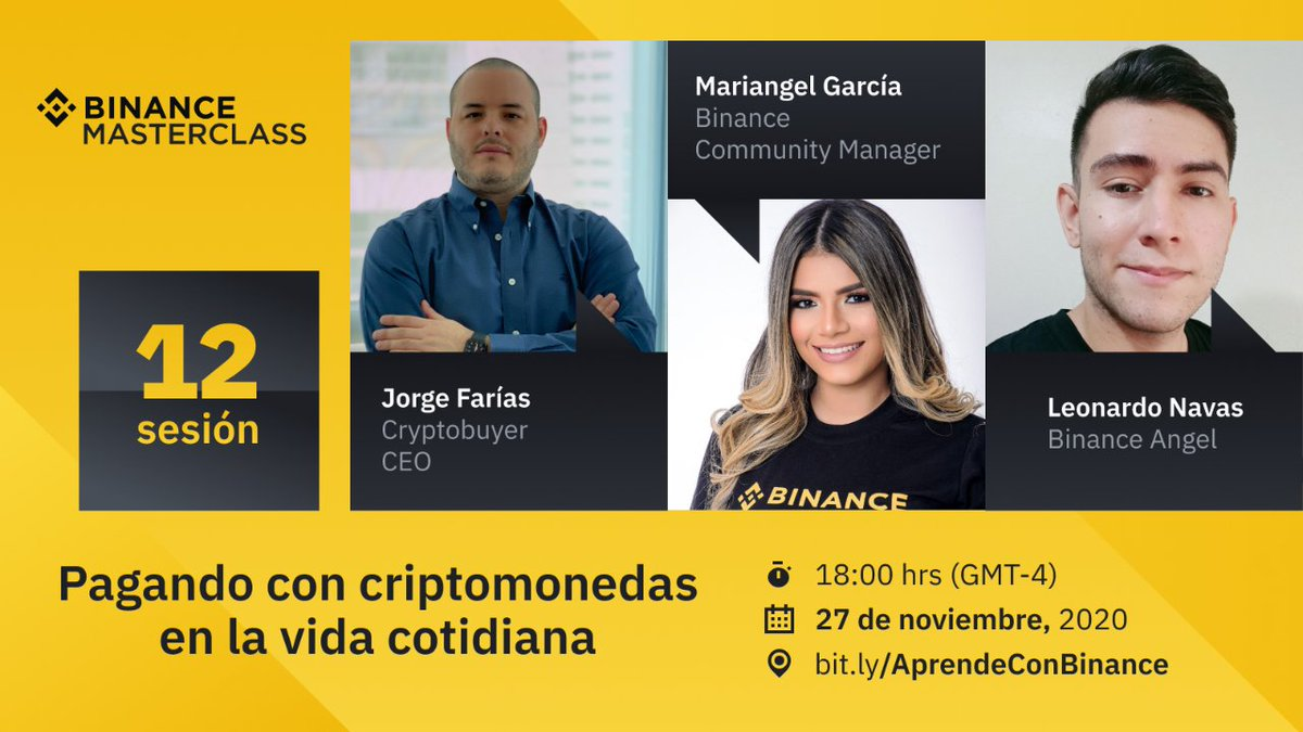 Tweet by @Binance_Spanish