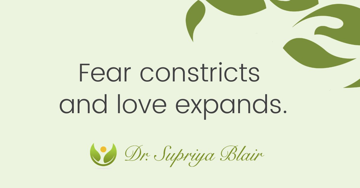 We direct the story of our life.  Instead of trying to change your outer world, start by first changing your inner world.  For more visit https://t.co/Jomq29Igxa  #fear #love #life #holistichealth #telehealth #wellnesswisdom #intention #holisticpsychology #drsupriyablair https://t.co/VvafHJNdeW