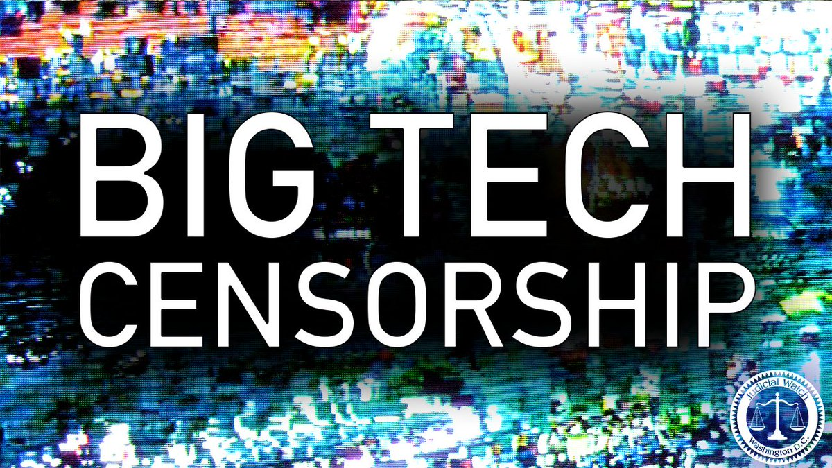 """Image for the Tweet beginning: .@TomFitton: """"#BigTech's 'great suppression' of"""