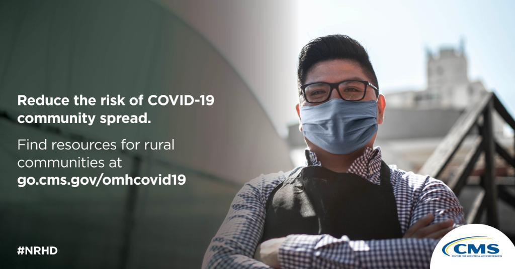 CMS recognizes the unique health care needs of the nearly 1-in-5 Americans that live in #rural areas. If you're a rural provider in need of resources, visit:   #RethinkingRuralHealth #PowerofRural