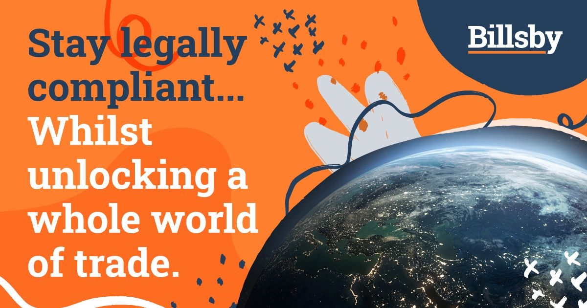Are you keen to capture global trading opportunities whilst staying compliant? Billsby is the answer. Our specially-designed solutions will let you trade wherever & however you want -  minimising confusion & maximising business growth.  #Brexit #GlobalGoals