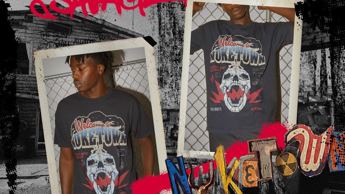 Rep the town you run. #BlackOpsColdWar  Get the new @PacSun Nuketown T-Shirt now: