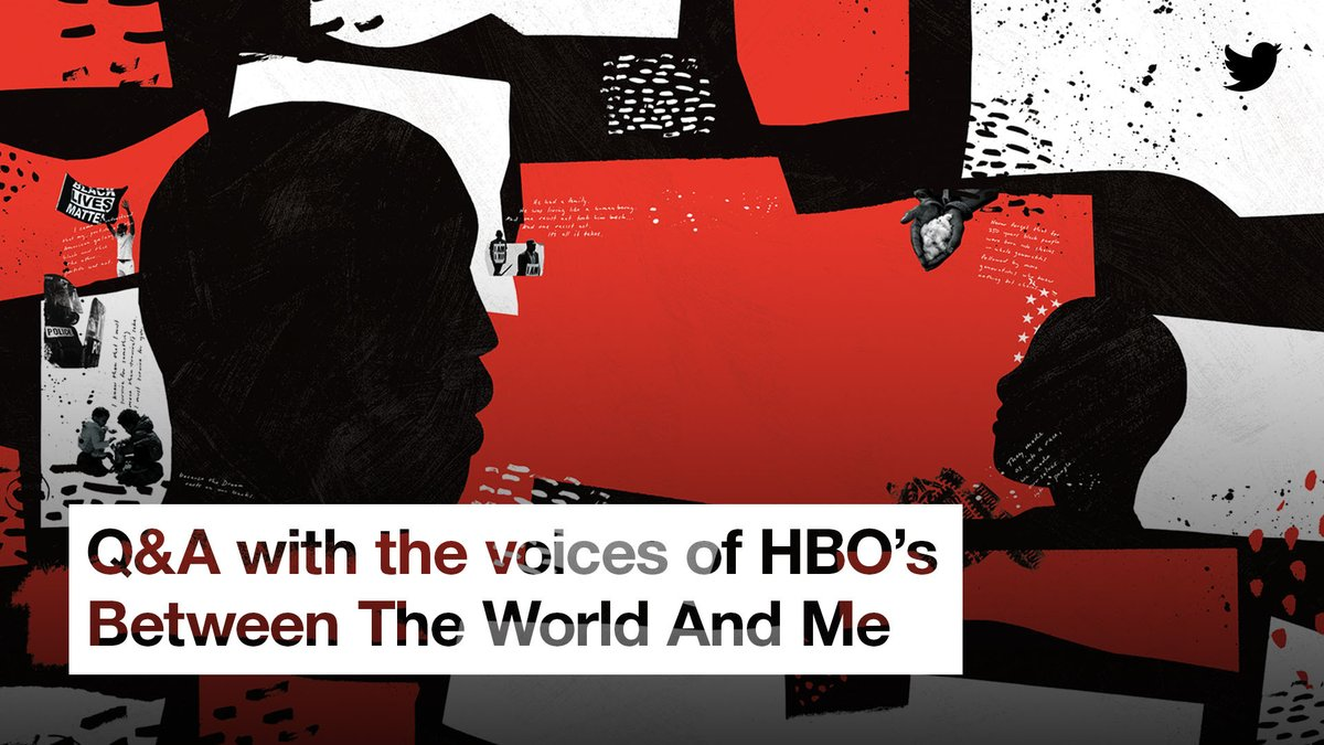 Book ➡️ stage ➡️ @HBO original.  Join @GiaPeppers in conversation with @Kamilahf, @skelechiwatson, and @salamishah, voices of HBO's special Between the World and Me 👇