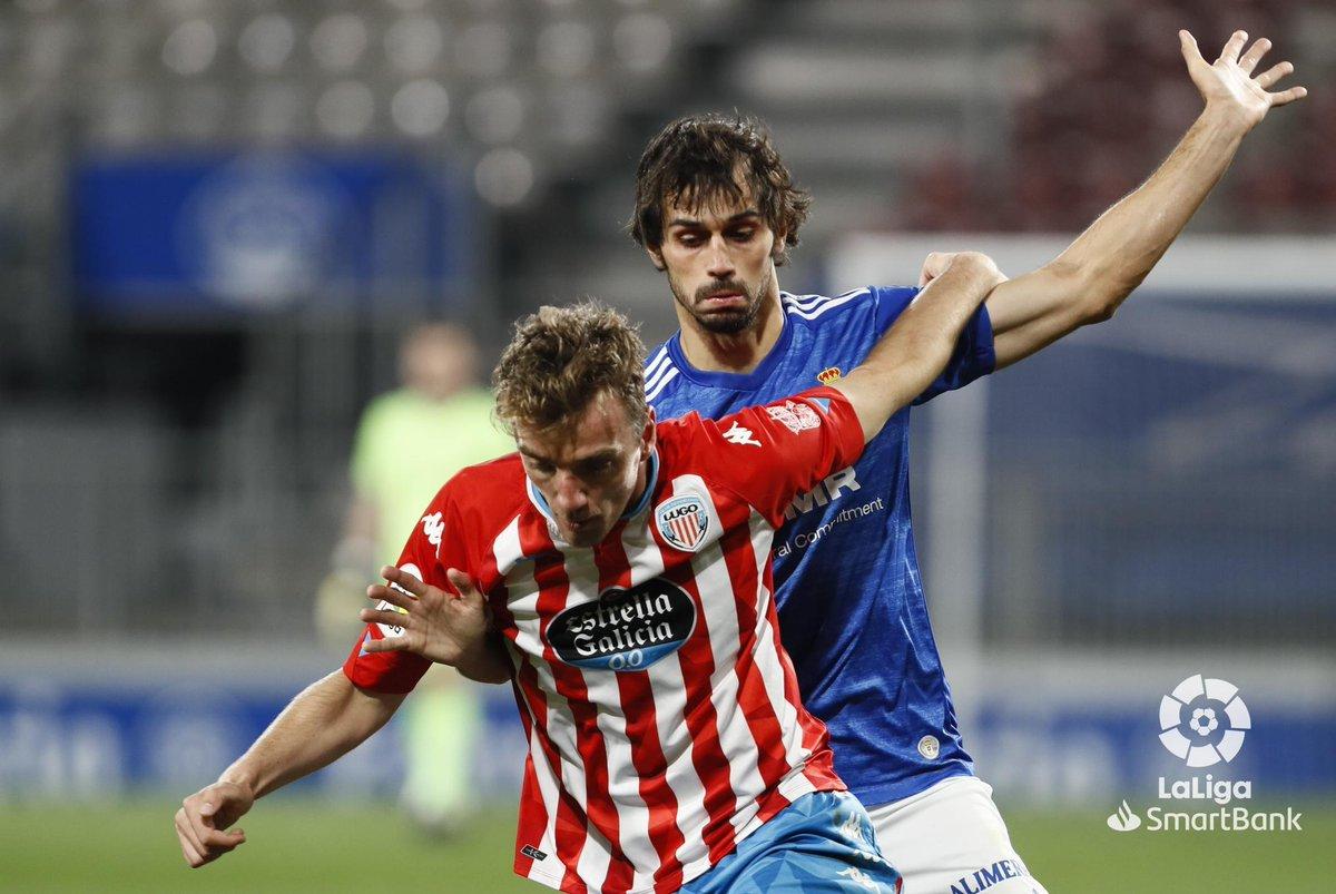 FINAL #LugoRealOviedo 0-0  Reparto de puntos entre @CDeportivoLugo y @RealOviedo.  #LaLigaSmartBank