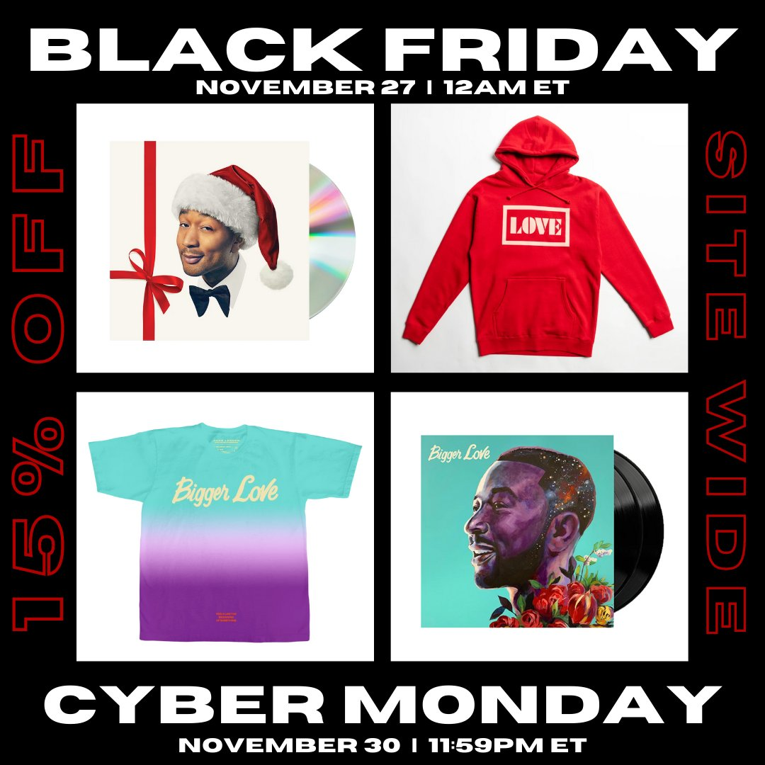 Get your Holiday shopping done early with 15% off my entire merch store for Black Friday and Cyber Monday!