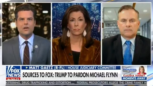 President Trump should pardon Flynn, the Thanksgiving turkey, and everyone from himself, to his admin, to Joe Exotic if he has to.  The Left has a bloodlust that will only be quenched if they come for those who fought with @realDonaldTrump to deliver for the American people.