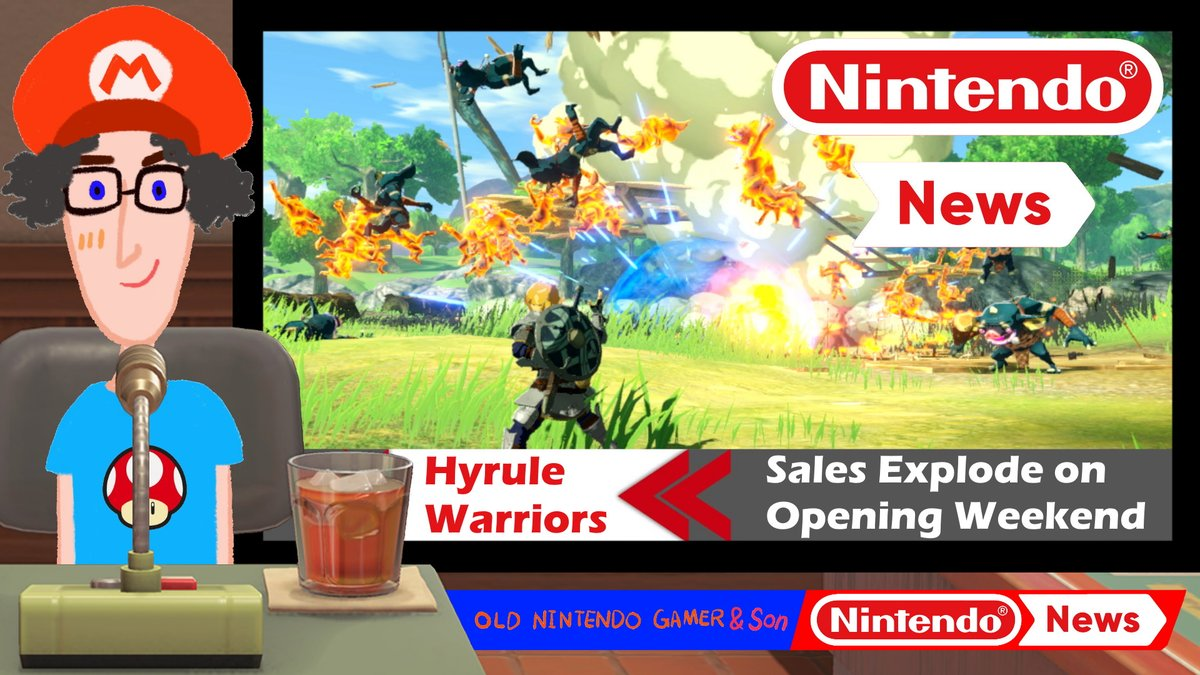 Old Nintendo Gamer Son On Twitter News Hyrule Warriors Opens Big More Daily Nintendo News Brought To You In The Most Informative And Succinct Way Possible Today Great Sales For
