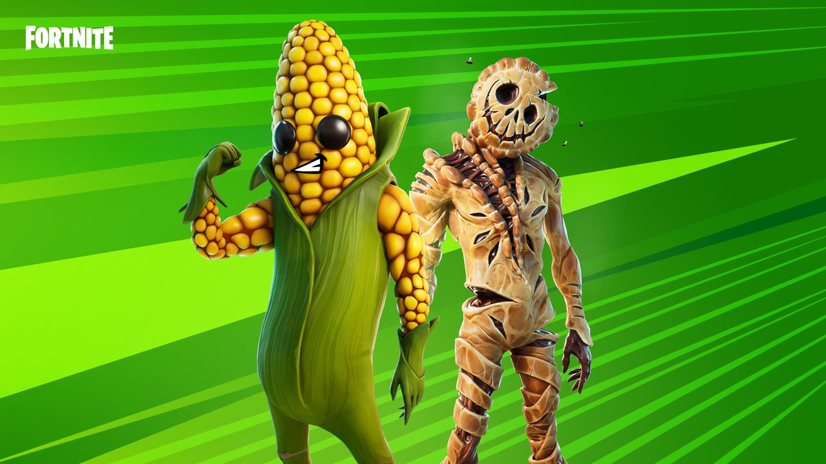 Feast on the harvest! Don't wait too long... it might feast on you.  Grab the Harvest Bounty Bundle in the Item Shop now!