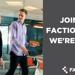 Image for the Tweet beginning: Faction is #hiring! Check out