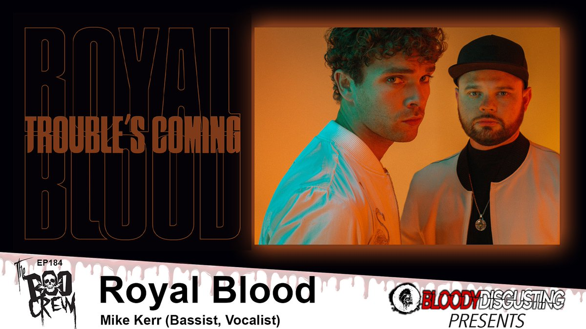 NEW EPISODE - The Boo Crew Chats with Bassist and Singer Mike Kerr of ROYAL BLOOD! @royalblooduk #horror @BDisgusting Listen on @ApplePodcasts @Spotify All Podcast Episode links available here: talesfromtheboocrew.com/post/the-boo-c…