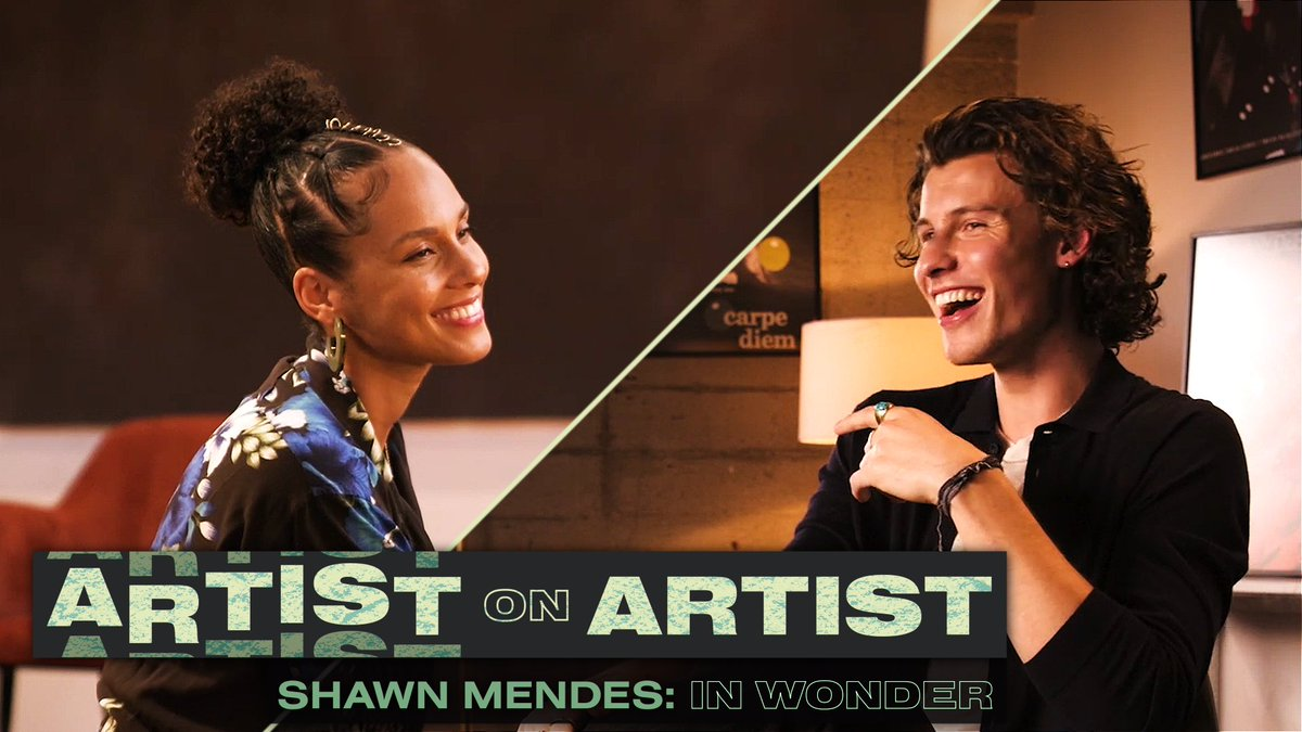For the very first Artist on Artist, we brought together two of the biggest musicians in the world: @ShawnMendes and @aliciakeys