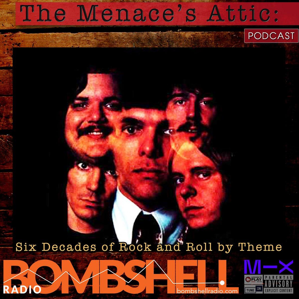 Join us    24-7 Join Us! Wednesday  The Menaces Attic 1pm-2pm EST  #classics,  #pop,  #rock , #classicrock,  #themenacesattic,    #bombshellradio